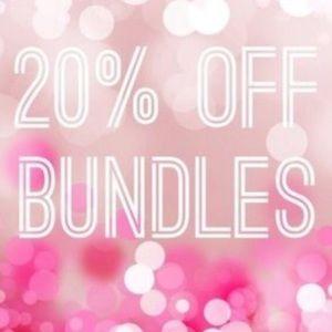 20% Off All Bundles 2+